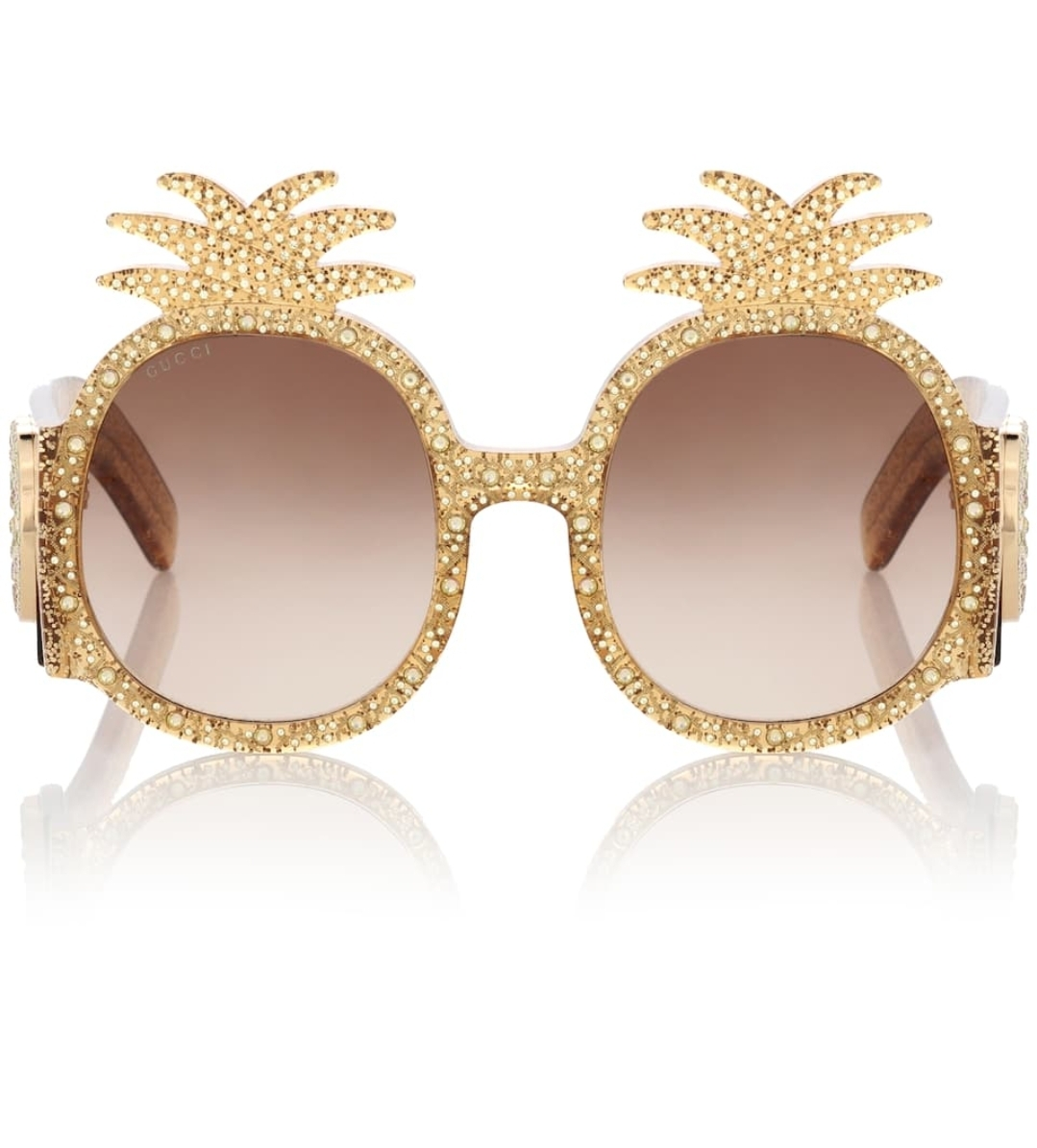 Beauty Fashion Food: Gucci 0150S Pineapple Sunglasses LIMITED EDITION