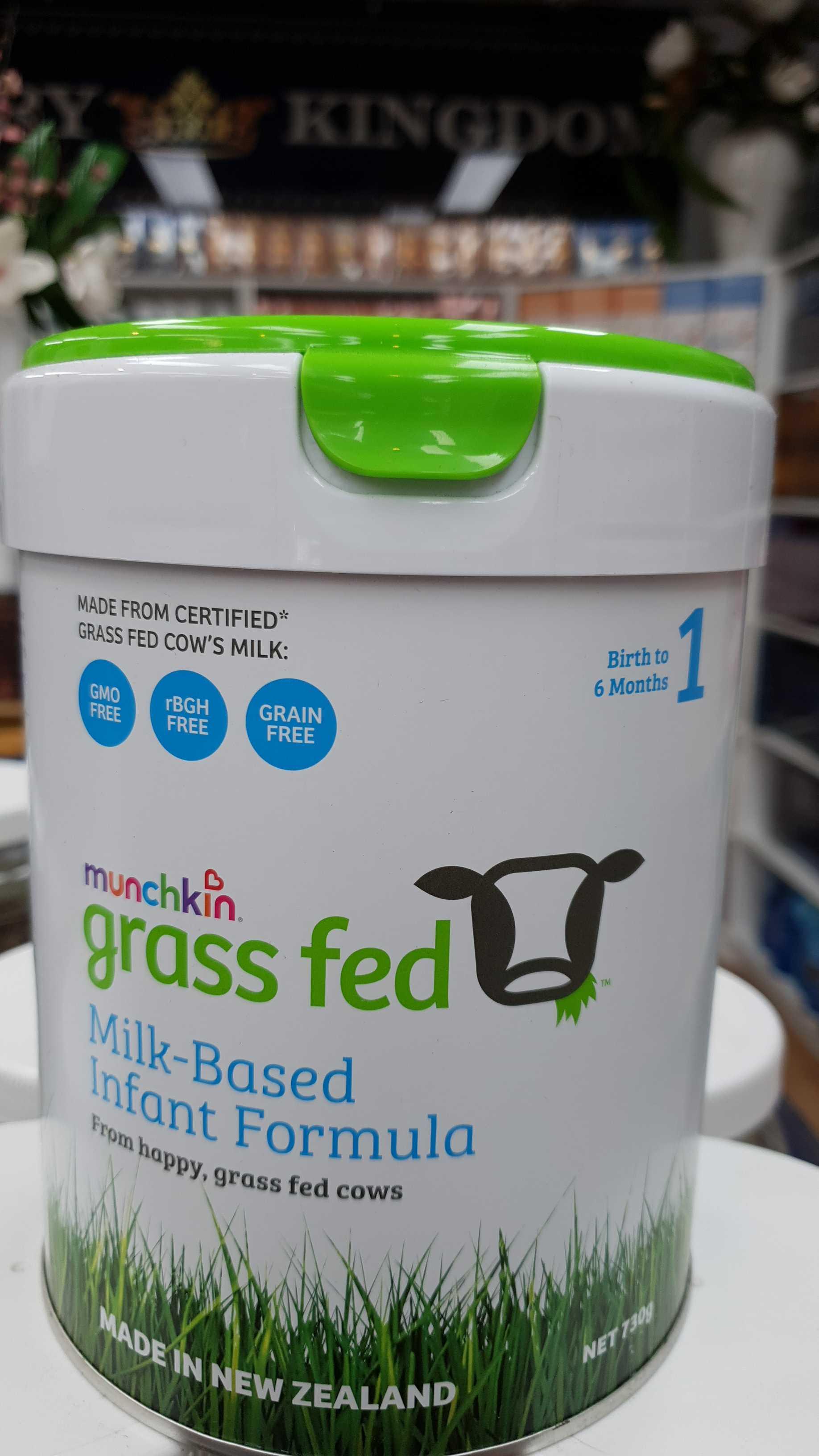 Munchkin Grass Fed Infant Formula Powder Stage 1 - Luxury ...
